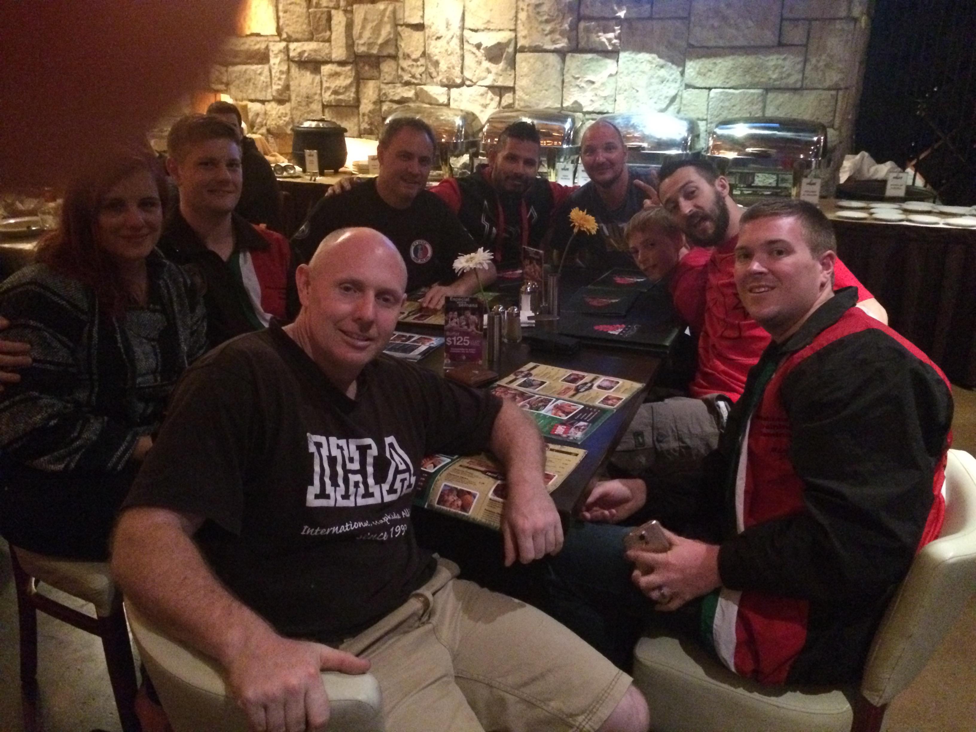 QLD Team Dinner